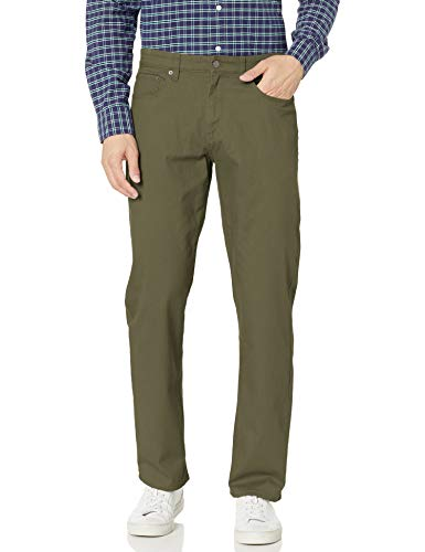 Amazon Essentials Men's Relaxed-fit 5-Pocket Stretch Twill Pant