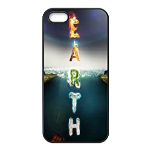 For HTC One M9 Phone Case Cover Earth Elements Typography Hard Shell Back Black For HTC One M9 Phone Case Cover 331908