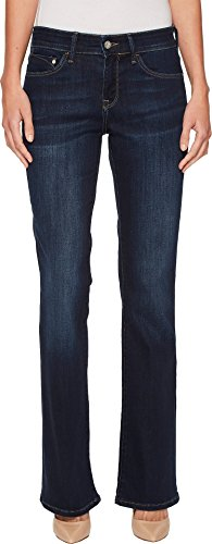 Mavi Jeans Women's Molly Midrise Bootcut in Deep Supersoft Dark Blue 29 30