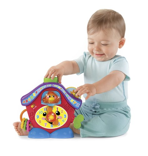 Cuckoo Coo Clock - Fisher-Price Laugh & Learn Peek-a-Boo Cuckoo