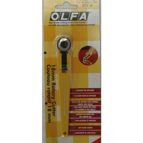 6 Pack OLFA ROTARY CUTTER 18MM Drafting, Engineering, Art (General Catalog) by OLFA