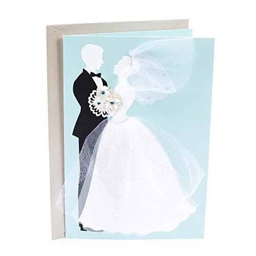 Hallmark Signature Wedding Greeting Card (Bride and Groom)