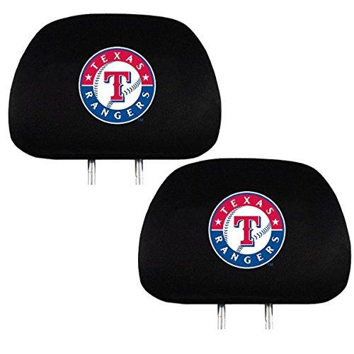- Team ProMark Official Major League Baseball Fan Shop Authentic Car Truck Auto MLB Headrest Cover (Texas Rangers)