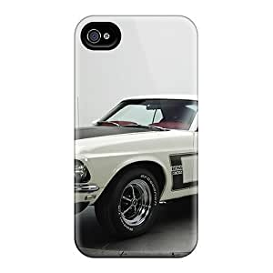 Anti-scratch And Shatterproof Mustang Boss 302 '1969 Phone Case For Iphone 4/4s/ High Quality Tpu Case