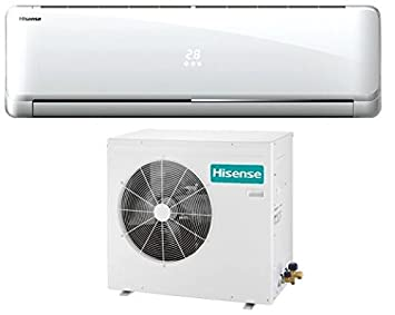 Hisense AS-12UR4SYDDC Sistema split Color blanco - Aire acondicionado (A+, A, 220-240, 1 A, 38 dB, Montar en la pared): Amazon.es: Hogar