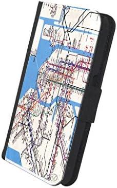 New York Subway Map Wallet.Amazon Com New York Subway Map New Vibe Iphone 7 Leather Wallet