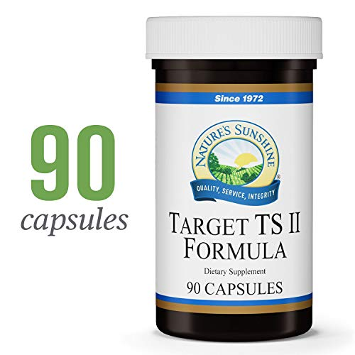 Nature's Sunshine Target TS II, 90 Capsules | Helps Support The Pituitary, Thyroid, and Hypothalamus Glands Through Zinc and Manganese