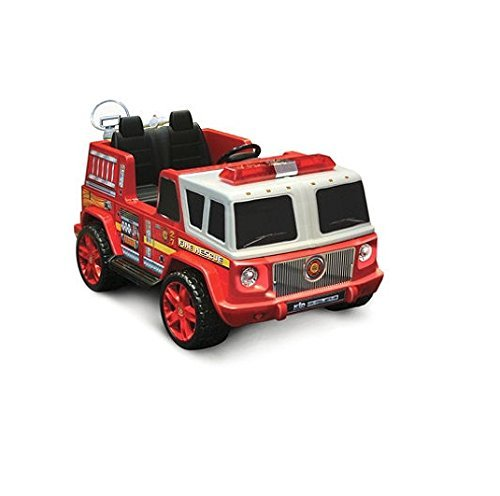 12v Fire Engine Ride-on
