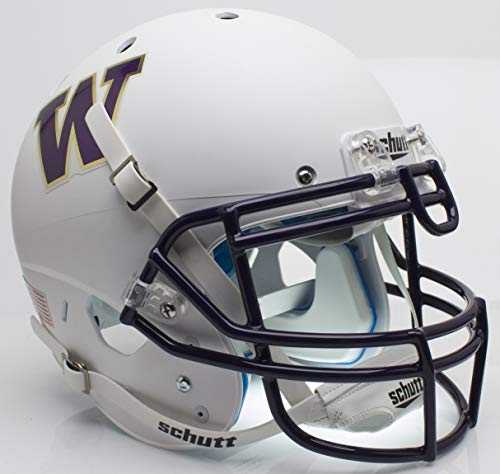 - NCAA Washington Huskies Unisex NCAA Washington Huskies On-Field Authentic XP Football Helmetncaa Washington Huskies On-Field Authentic XP Football Helmet, Matte White Alt, One Size