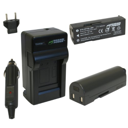 Wasabi Power Battery and Charger Kit for Pentax Optio Z10, D-LI72, D-L172 (Z10 Camera)