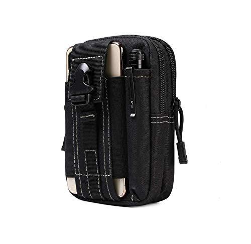 Water Resistant Outdoor Sport Travel Pouch Belt Waist Phone Bag Fanny Case Pack Money Pocket (Black) Price & Reviews