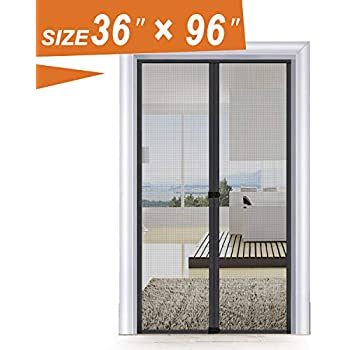 Thermal Door Screen 36x96 Temporary Door Eva Magnetic