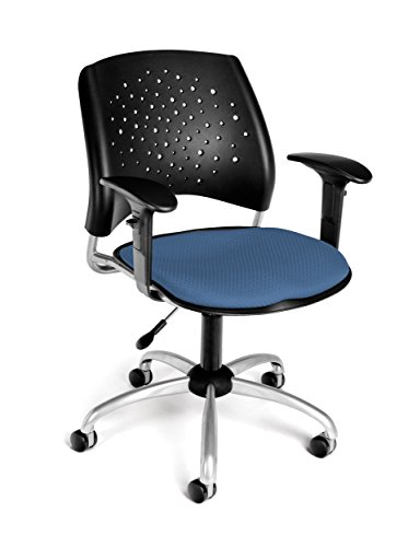 UPC 845123013106, OFM Stars Swivel Chair with Arms, Cornflower Blue