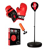 Indoor Punching Bag for Kids - Home Gym Youth