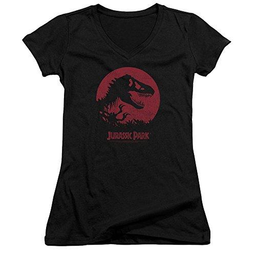 Sphere Jeune T Femme Jurassic Femmes rex Park Black shirt T Pour SwApqT