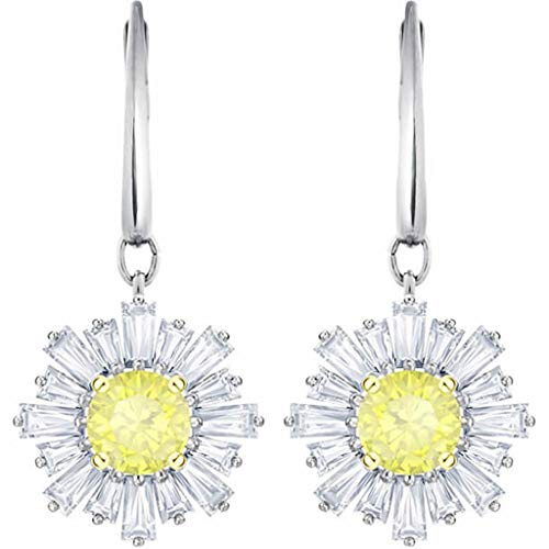 Swarovski Sunshine Pierced Earrings, White 5479914 (Fit Pierced Earrings Swarovski)
