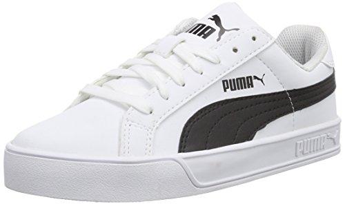 puma smash vulc weiß