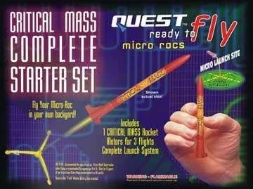 RTF Micro Critical Mass (1)Rocket Starter Set (Rtf Rocket Starter)