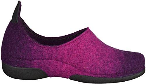 Berkemann Lara Damen Flache Hausschuhe Violett - violett