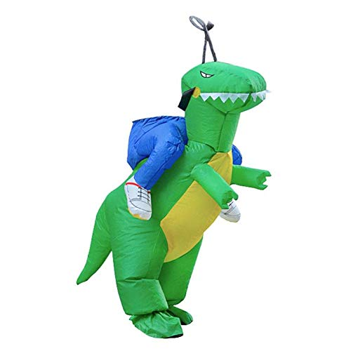 Party Diy Decorations - Inflatable Dinosaur Costume T Rex Children Halloween Dress Cosplay Suit - Decorations Party Party Decorations Ship Dinosaur Supply Doodle Julian Mascot Costume -