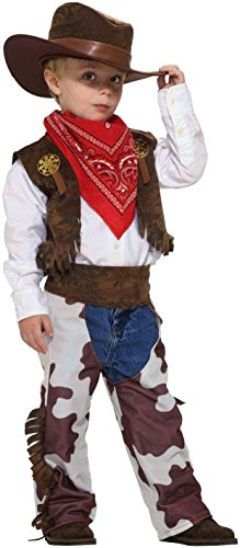 Forum Novelties Cowboy Kid Costume, Toddler Size (Baby Cowboy Costume)