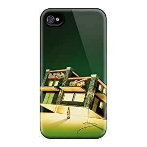 DustinHVance Perfect Tpu Case For Iphone 4/4s/ Anti-scratch Protector Case (beer Ads)