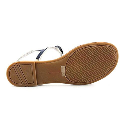 Tommy Hilfiger Lisel Womens Size 6M Dark Blue Slingback Sandals Shoes