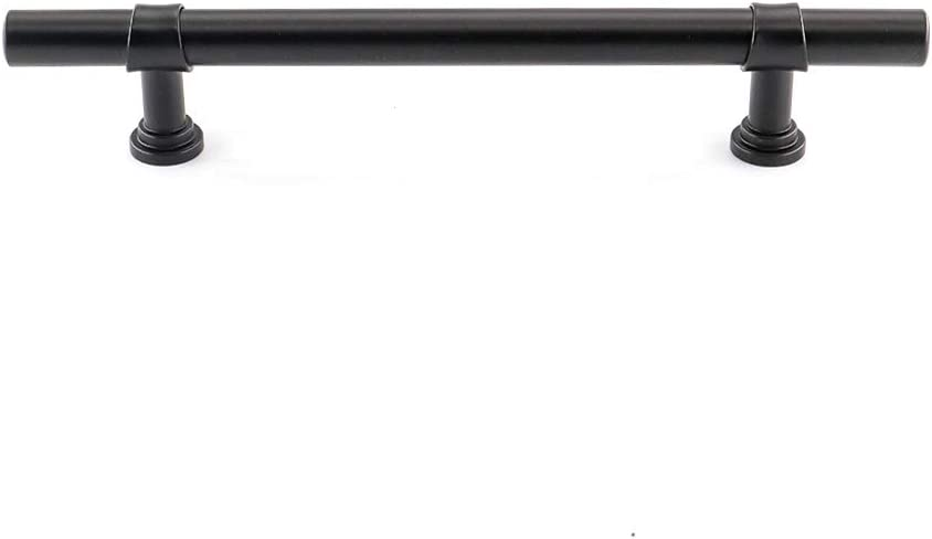 PHLST18BK76 Bathroom Cabinet Handles Modern Door Handle Cabinet Hardware Peaha Cabinet Pulls Kitchen Cabinet Pulls Black