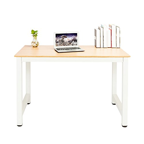 Xinnio FCH Decent High Strength Wooden Computer Desk Oak