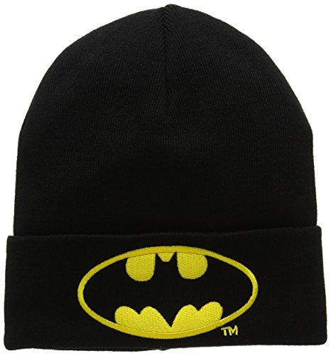 de Gorro original licencia Beanie Bordado Negro marca punto con de Logoshirt Logo Diseño original Batman de la DC Gorro Comics Batman Logotipo punto ZgWwdf