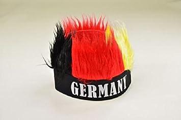 Mütze Fußball zum Kostüm Karneval Fasching WM EM