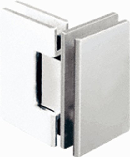 CRL Geneva 092 Series Polished Nickel 90176; Glass-To-Glass Hinges