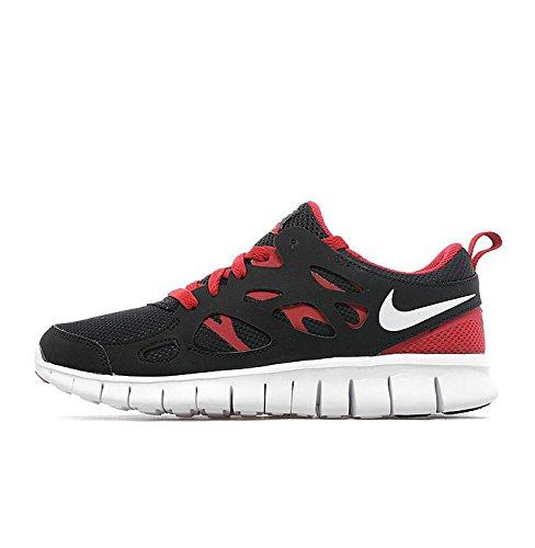 cheap for discount 904c9 f2ec4 Nike Free Run 2 Junior Black Red White (UK 4   US 5   EU 36.5)   Amazon.co.uk  Shoes   Bags