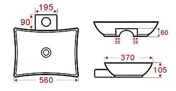 Aufsatzwaschtisch AW2060