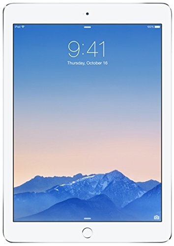 Apple iPad Air 2 MGKM2LL/A (64GB, Wi-Fi, Silver) NEWEST VERSION (Renewed) (Ipad 4 32gb Wifi White)