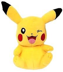Pokemon: Pikachu Sitting & Winking 8 Inch Plush