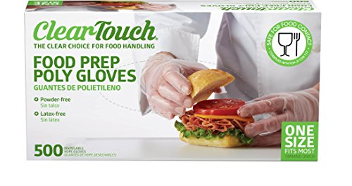 Medline Clear Touch Gloves Powder