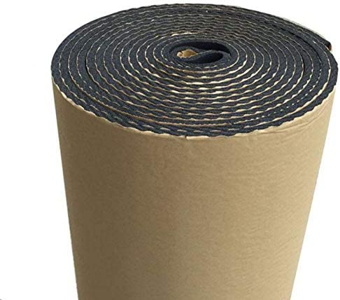 Self-Adhesive Waterproof Sound Deadening Mat for Cars Factories Volwco Car Sound Deadening Material Apartments Automotive Insulation /& Noise Control Etc Studios Classrooms