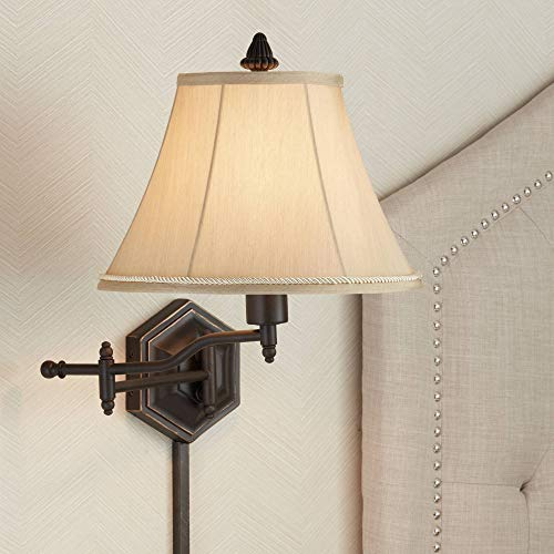 Hexagon Swing Arm Plug-in Wall Lamp by Barnes and Ivy - Barnes and Ivy