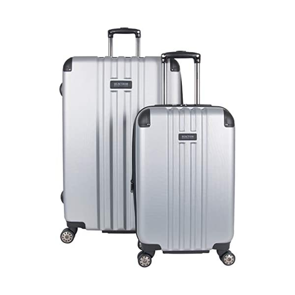79adac236 Kenneth Cole Reaction Reverb Hardside Expandable 8-Wheel Spinner 2-Piece  Luggage Set; 20