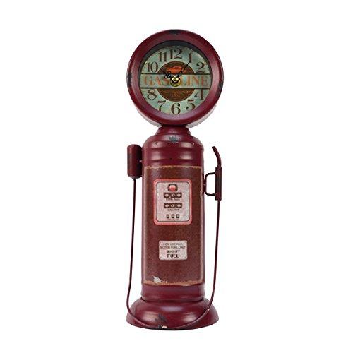 TG LLC Vintage Gas Station Quality Motor Fuel Gasoline Pump Clock