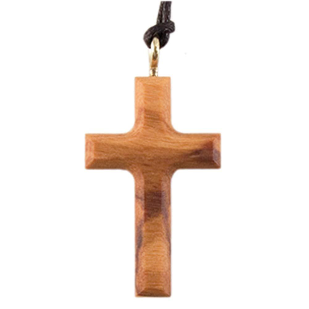 Fritz Cox 430048 Anhänger mit Kreuz aus Olivenholz