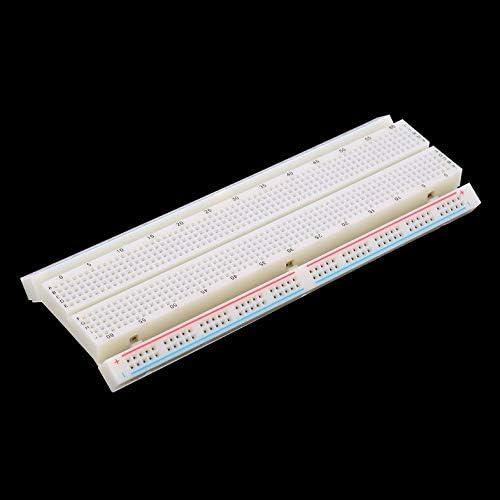 Protoboard sans soudure de carte d/'assemblage MB-102 830 points de rattachement 2 bus Circuit de test Mini circuit de test universel de Protoboard