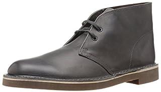 Clarks Men's Bushacre 2 Chukka Boot, Grey Leather, 7 M US (B00UWJ2ESA) | Amazon price tracker / tracking, Amazon price history charts, Amazon price watches, Amazon price drop alerts
