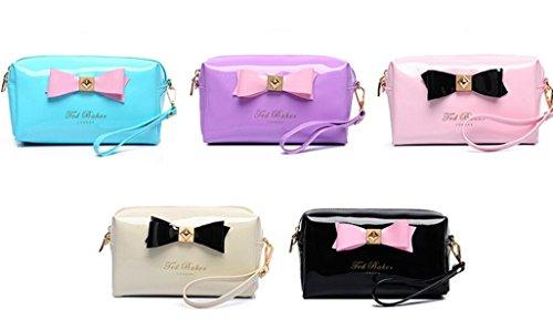 Handbag Outdoor BNASA Lady Shoulder Makeup Bag Shoulder Handbag BNASA White Lady YS1qaYw