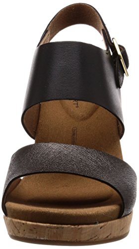 ROCKPORT Sandalias Part Vivianne Black 2 38 wwr08g
