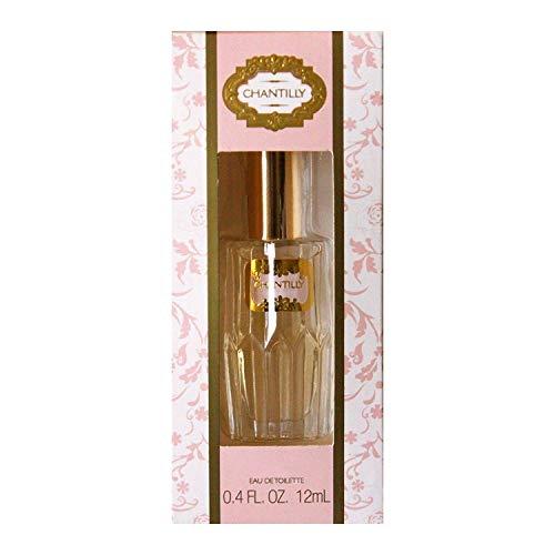 (Dana Classic Fragrances Chantilly Eau de Toilette Mini Splash for Women, 0.4 Ounce Travel Size)