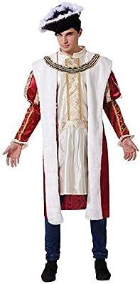 hombre rojo/Blanco Inglés Rey Azul Disfraz: Amazon.es: Juguetes y ...