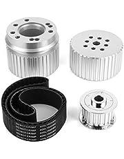 Water Pump Pulley Crankshaft Alternator Pulley Cogged Belt Kit 2254KIT Fit for 289 302 351W