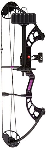 PSE Ready to Shoot Fever Compound Bow, Purple Rain, 29-Pound, Right Hand